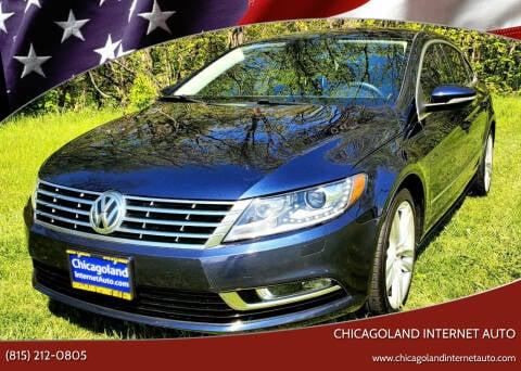 2013 Volkswagen CC for sale at Chicagoland Internet Auto - 410 N Vine St New Lenox IL, 60451 in New Lenox IL