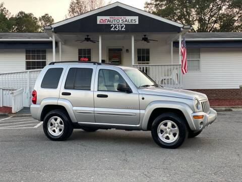 2004 Jeep Liberty for sale at CVC AUTO SALES in Durham NC