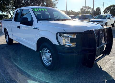 2015 Ford F-150 for sale at DAN'S DEALS ON WHEELS in Davie FL