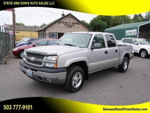 2005 Chevrolet Silverado 1500 for sale at Steve & Sons Auto Sales in Happy Valley OR