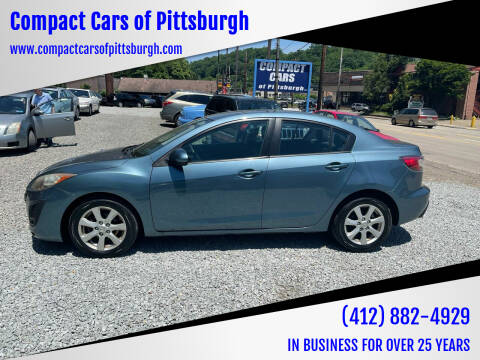 2010 Mazda MAZDA3 for sale at Compact Cars of Pittsburgh in Pittsburgh PA
