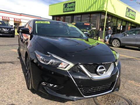 2017 Nissan Maxima for sale at 1st Quality Motors LLC in Gallup NM