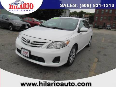2013 Toyota Corolla for sale at Hilario's Auto Sales in Worcester MA