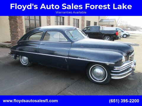 1949 Packard Series 10 for sale at Floyd's Auto Sales Forest Lake in Forest Lake MN