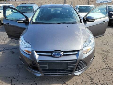 2013 Ford Focus for sale at JORDAN AUTO SALES in Youngstown OH