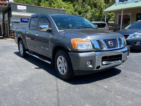 2015 Nissan Titan for sale at Luxury Auto Innovations in Flowery Branch GA