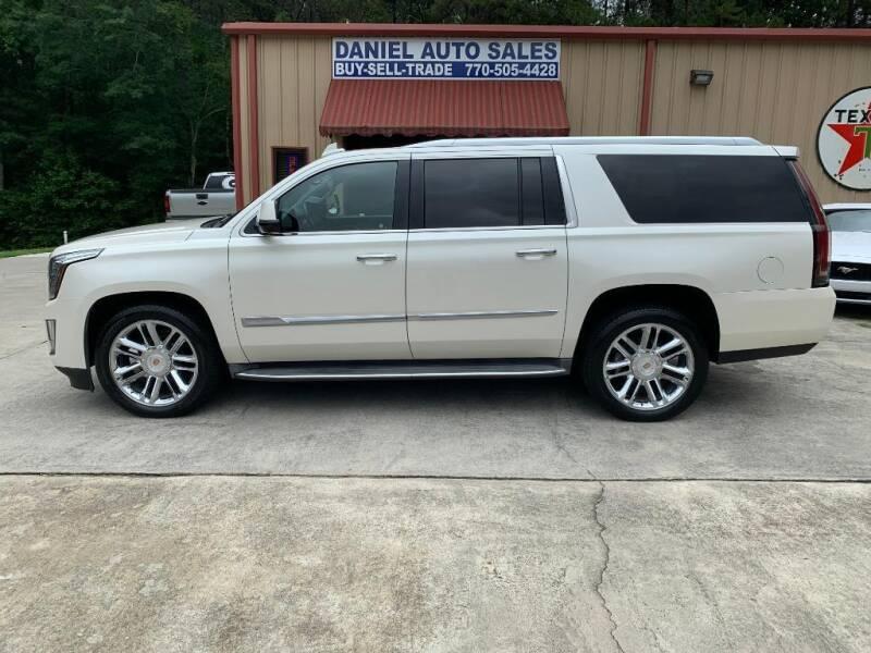 2015 Cadillac Escalade ESV for sale at Daniel Used Auto Sales in Dallas GA