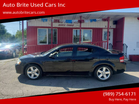 2009 Dodge Avenger for sale at Auto Brite Used Cars Inc in Saginaw MI