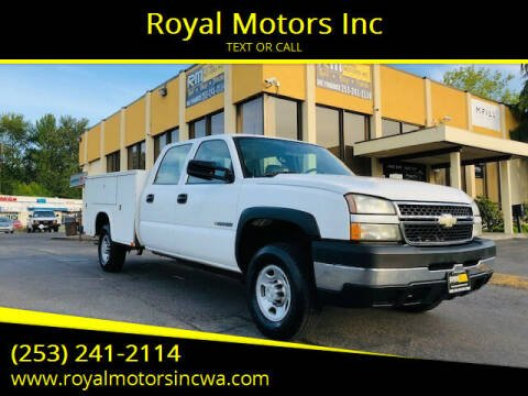 2007 Chevrolet Silverado 2500HD Classic for sale at Royal Motors Inc in Kent WA