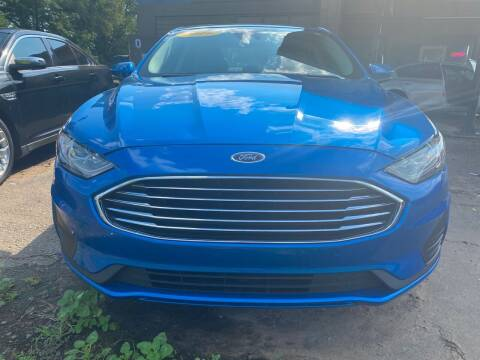 2019 Ford Fusion Hybrid for sale at BEST AUTO SALES in Russellville AR