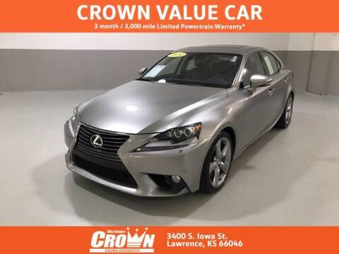 2014 Lexus IS 350 for sale at Crown Automotive of Lawrence Kansas in Lawrence KS