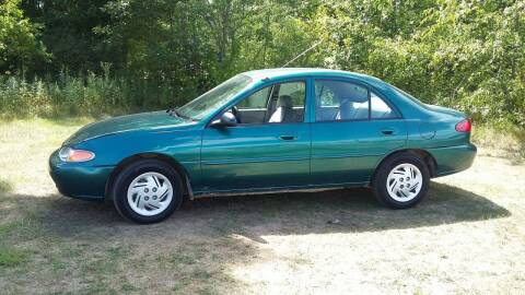 1998 Ford Escort for sale at Expressway Auto Auction in Howard City MI