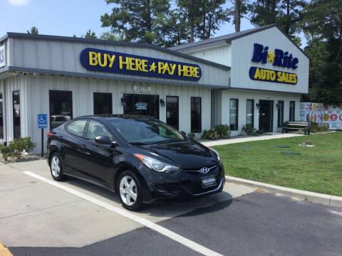 2013 Hyundai Elantra for sale at Bi Rite Auto Sales in Seaford DE