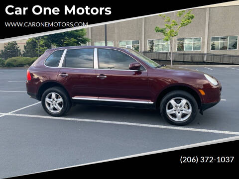 2004 Porsche Cayenne for sale at Car One Motors in Seattle WA