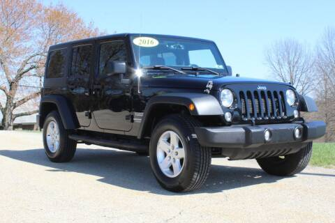 2016 Jeep Wrangler Unlimited for sale at Harrison Auto Sales in Irwin PA