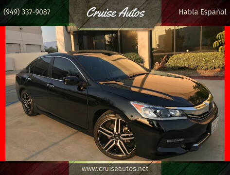 2017 Honda Accord for sale at Cruise Autos in Corona CA