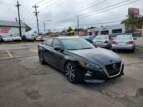 2019 Nissan Altima for sale at Green Ride Inc in Nashville TN