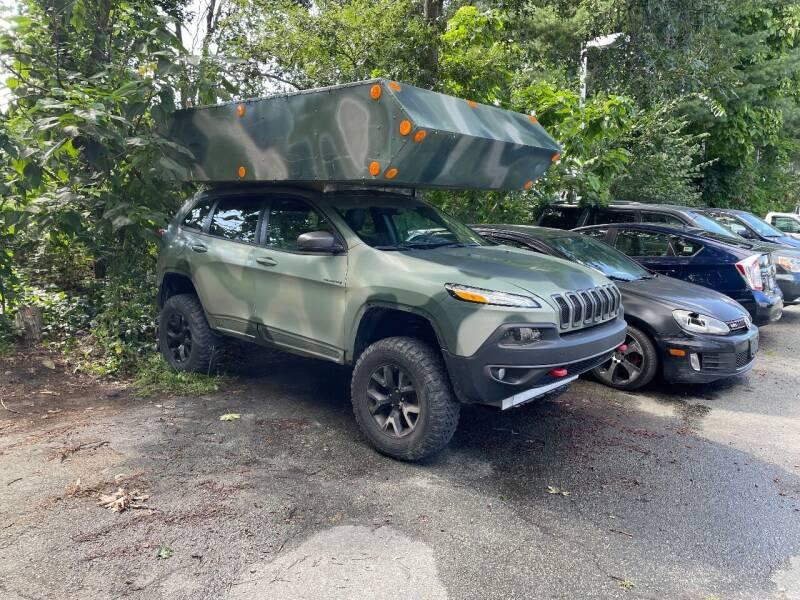 2016 Jeep Cherokee for sale at Nano's Autos in Concord MA