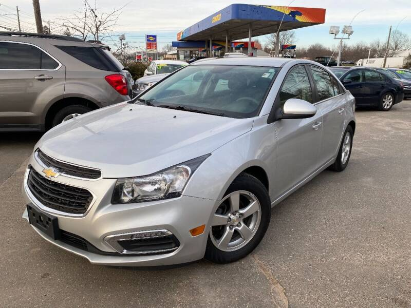 2015 Chevrolet Cruze for sale at East Windsor Auto in East Windsor CT
