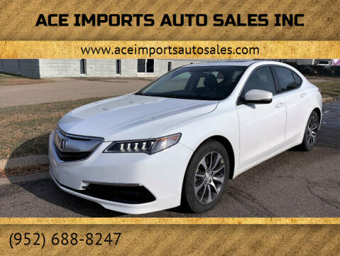 2017 Acura TLX for sale at ACE IMPORTS AUTO SALES INC in Hopkins MN
