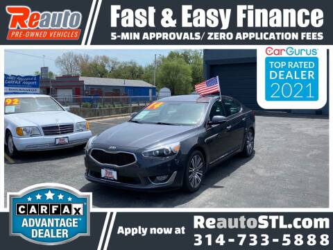 2014 Kia Cadenza for sale at Reauto in Saint Louis MO