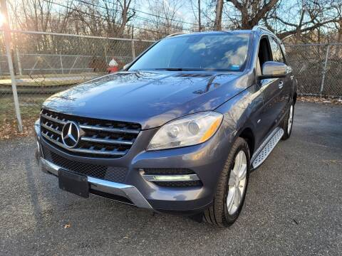 2012 Mercedes-Benz M-Class for sale at AW Auto & Truck Wholesalers  Inc. in Hasbrouck Heights NJ