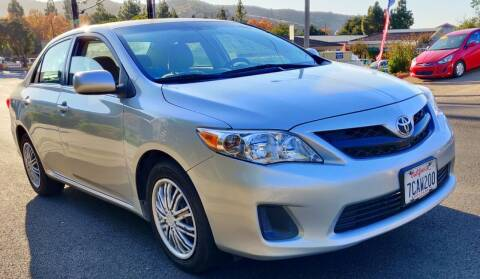 2013 Toyota Corolla for sale at Apollo Auto El Monte in El Monte CA
