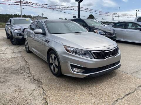 2013 Kia Optima Hybrid for sale at Direct Auto in D'Iberville MS