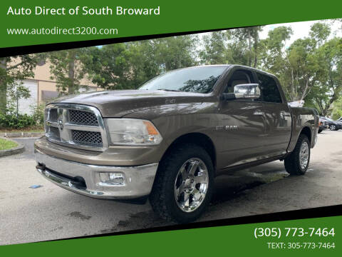 2009 Dodge Ram Pickup 1500 for sale at Auto Direct of South Broward in Miramar FL