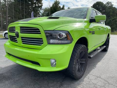 2017 RAM Ram Pickup 1500 for sale at Airbase Auto Sales in Cabot AR