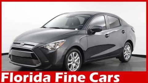 2017 Toyota Yaris iA for sale at Florida Fine Cars - West Palm Beach in West Palm Beach FL
