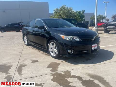 2012 Toyota Camry for sale at Meador Dodge Chrysler Jeep RAM in Fort Worth TX