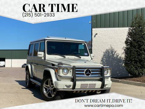 2009 Mercedes-Benz G-Class for sale at Car Time in Philadelphia PA