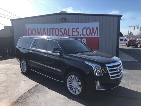 2020 Cadillac Escalade ESV for sale at Auto Group South - Idom Auto Sales in Monroe LA