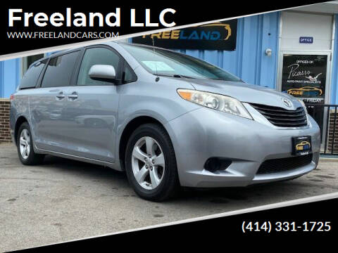 2011 Toyota Sienna for sale at Freeland LLC in Waukesha WI