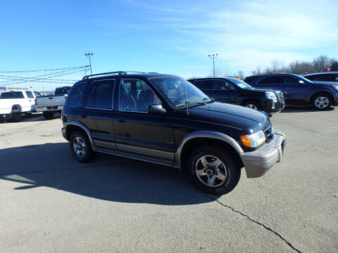 2001 Kia Sportage for sale at BLACKWELL MOTORS INC in Farmington MO
