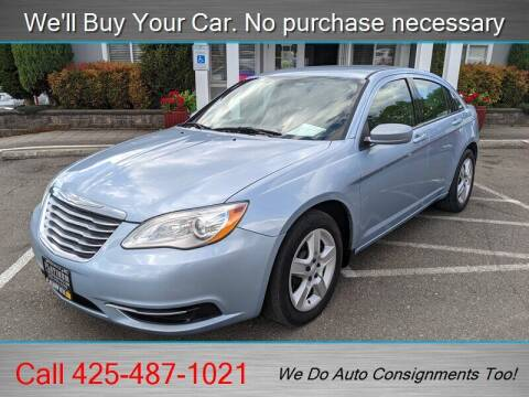 2013 Chrysler 200 for sale at Platinum Autos in Woodinville WA