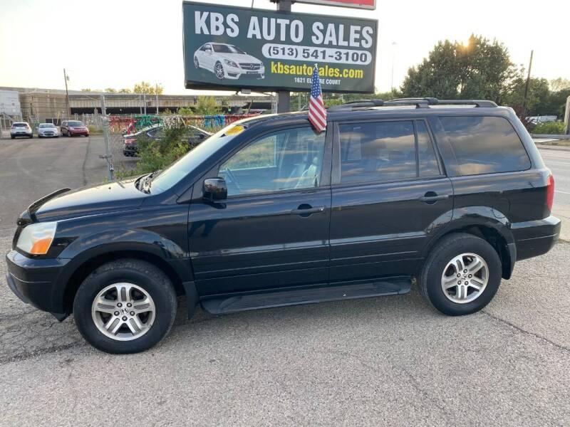 2004 Honda Pilot for sale at KBS Auto Sales in Cincinnati OH