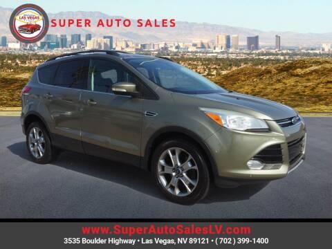 2013 Ford Escape for sale at Super Auto Sales in Las Vegas NV