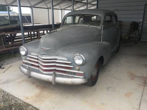 1947 Chevrolet Fleetmaster for sale at CAROLINA TOY SHOP LLC in Hartsville SC