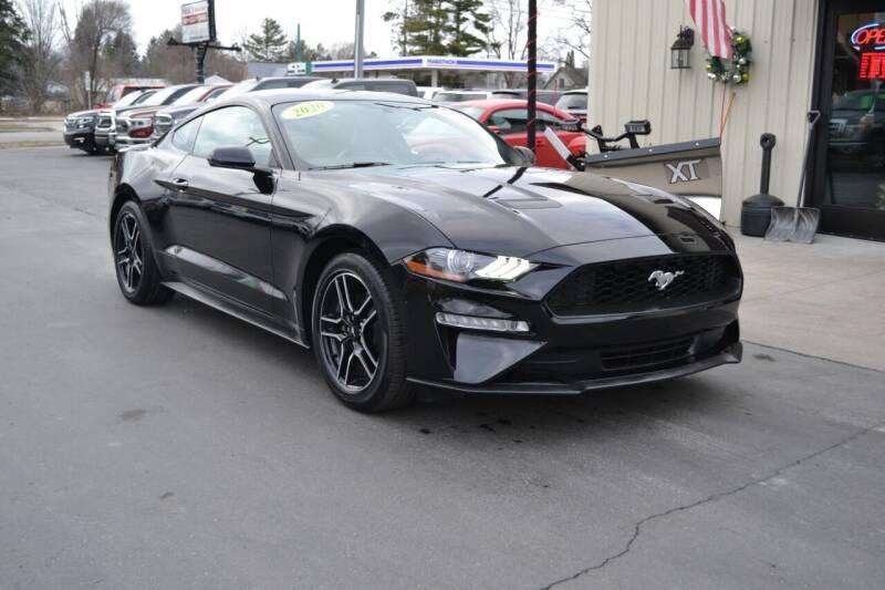 2020 Ford Mustang for sale at Nick's Motor Sales LLC in Kalkaska MI
