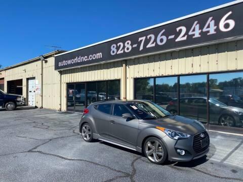 2013 Hyundai Veloster for sale at AutoWorld of Lenoir in Lenoir NC