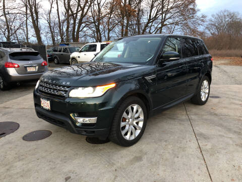 2014 Land Rover Range Rover Sport for sale at Barga Motors in Tewksbury MA