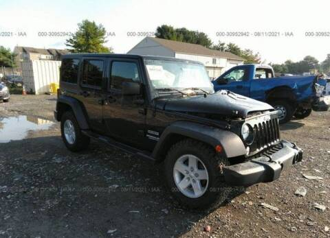 2017 Jeep Wrangler Unlimited for sale at MIKE'S AUTO in Orange NJ
