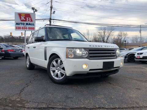 2007 Land Rover Range Rover for sale at KB Auto Mall LLC in Akron OH