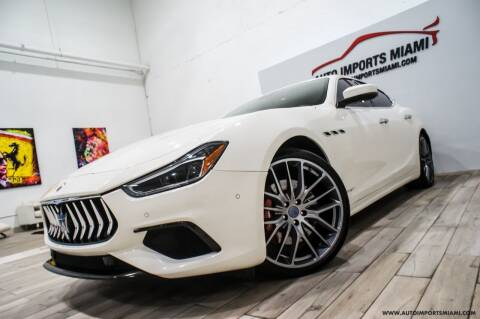 2018 Maserati Ghibli for sale at AUTO IMPORTS MIAMI in Fort Lauderdale FL