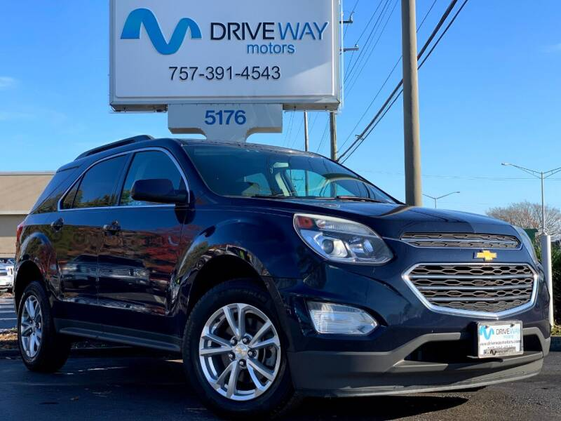 2016 Chevrolet Equinox for sale at Driveway Motors in Virginia Beach VA