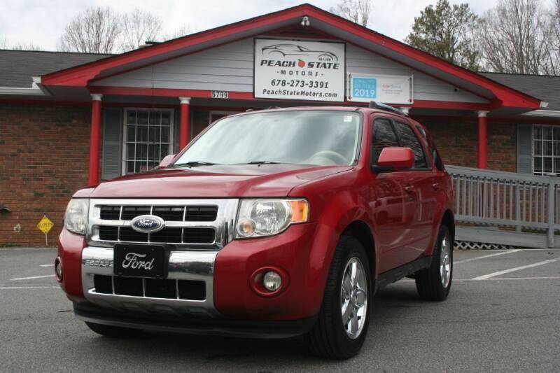 2010 Ford Escape for sale at Peach State Motors Inc in Acworth GA