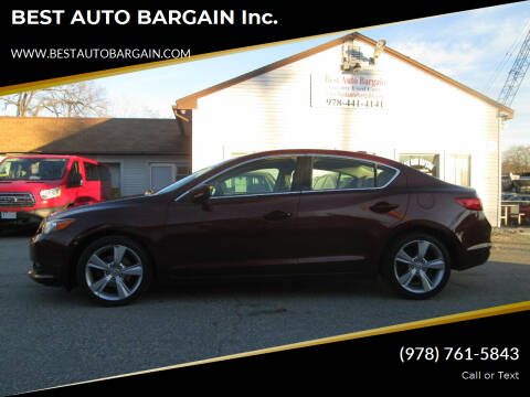 2014 Acura ILX for sale at BEST AUTO BARGAIN inc. in Lowell MA