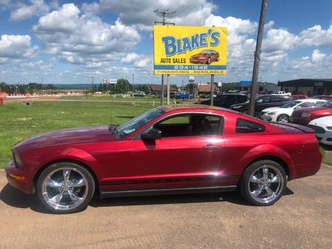 2007 Ford Mustang for sale at Blakes Auto Sales in Rice Lake WI
